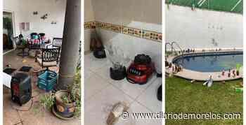 Una joven con amigos destruyen casa que rentaron para fiesta en Jiutepec - Diario de Morelos