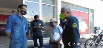 Supervisan en Jiutepec cumplimiento de medidas sanitarias por semáforo amarillo - Unión de Morelos