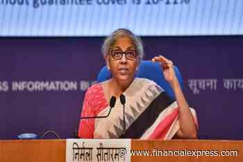 Finance Minister LIVE: Sitharaman to brief at 4 pm; Cabinet nod for general insurance privatisation expected