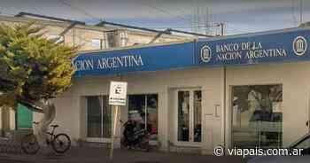 Mientras investigan como vaciaron las cuentas, el banco Nación devolvió el dinero a los clientes estafados - Vía País