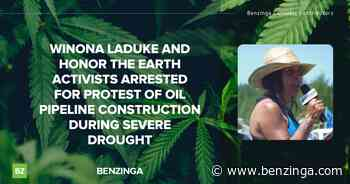 Winona LaDuke And Honor The Earth Activists Arrested For Protest Of Oil Pipeline Construction During Seve - Benzinga