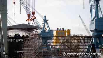 Schiffbau: Hamburger Werft Pella Sietas kündigt Insolvenzantrag an
