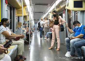 Covid a Milano, studio Ats: rischio molto modesto sui mezzi pubblici - Corriere Milano