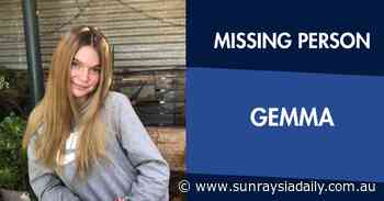 Plea to help find Missing Mildura teenager - Sunraysia Daily