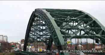 Man taken to hospital after falling from Wearmouth Bridge
