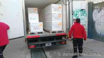 Llegaron a Mendoza 68.000 dosis de la vacuna Sinopharm - Diario San Rafael