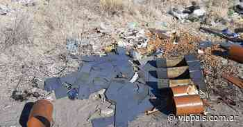 Otra vez ladrones de cobre robaron un transformador eléctrico - Vía País