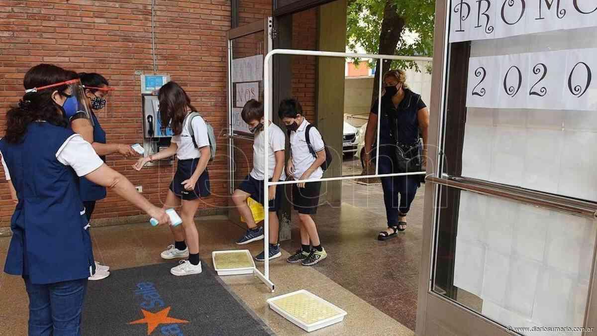 Fue normal el retorno a clases en el Departamento Santa María - diariosumario.com.ar