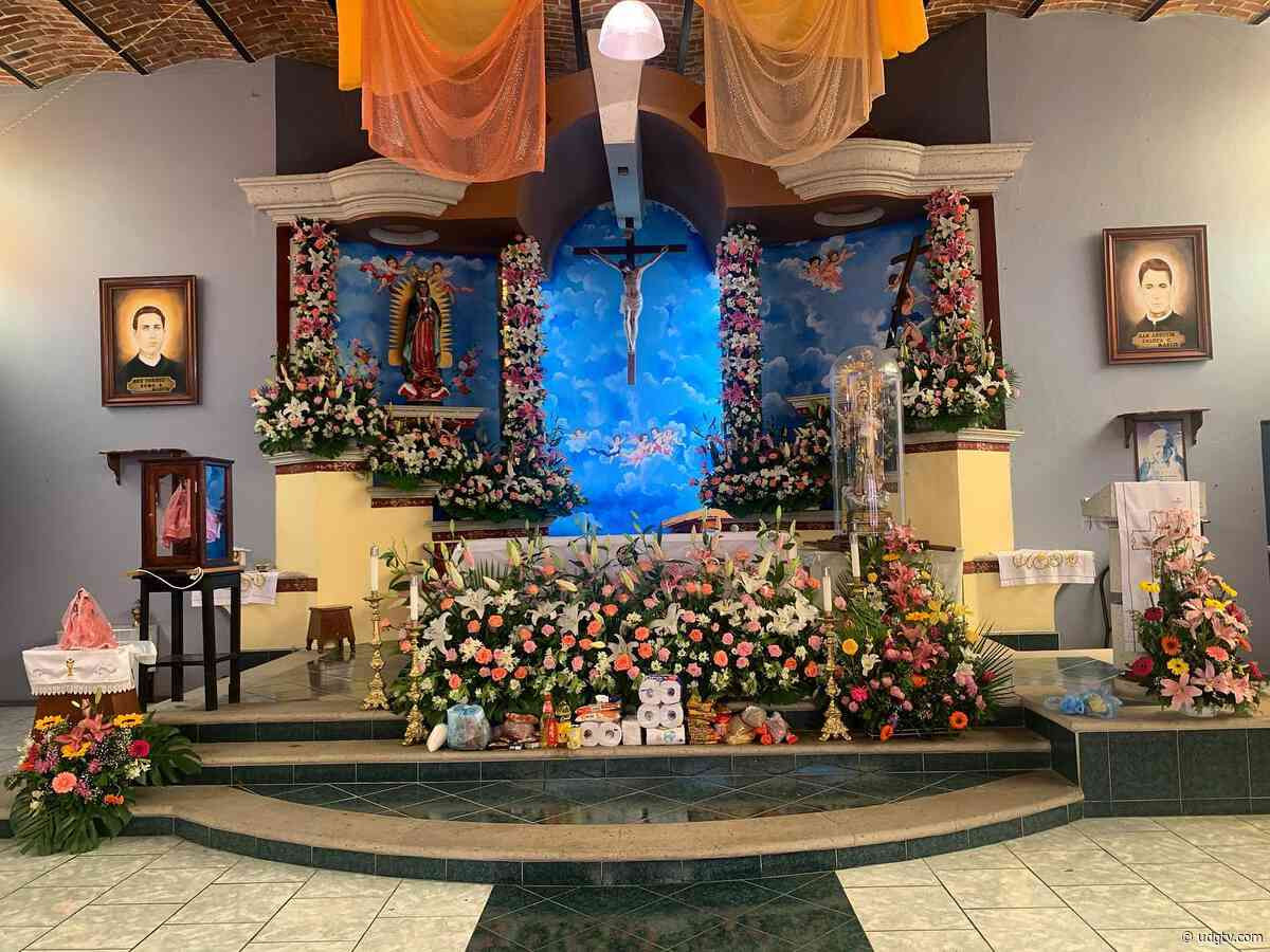 Celebran a Santa María Magdalena en Jamay - UDG TV