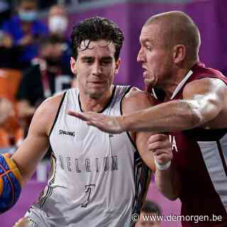 Live - Belgische 3x3-basketploeg speelt om 14.15 uur voor bronzen medaille tegen Servië