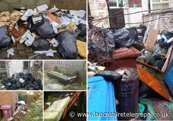 Blackburn with Darwen: 17 people fined for fly tipping outside homes