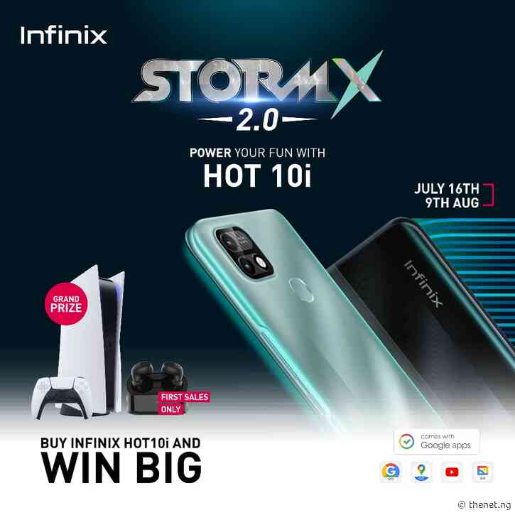 Infinix Storms Campus With Hot 10i,  Android Go and PS5 Giveaway