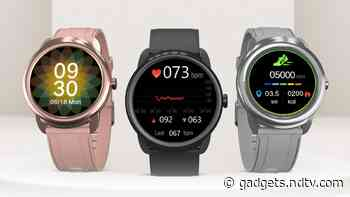 Portronics Kronos Beta Smartwatch With Heart Rate Monitoring, 7-Day Battery Life Launched in India