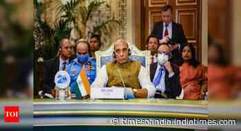 Support to any act of terrorism is crime against humanity: Rajnath at SCO conclave