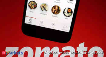UBS starts Zomato coverage with a buy, target of Rs 165 - Economic Times