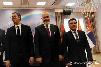 Servië, Albanië en Noord-Macedonië richten eigen 'mini-Schengenzone' op
