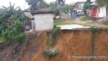Uyo Residents Defy Orders To Quit Erosion-Prone Areas - thewillnigeria