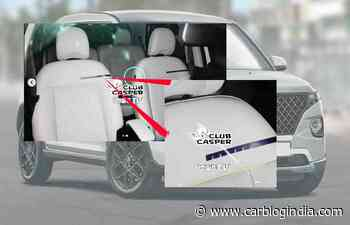 Hyundai Casper Name Confirmed Thru Seat Cover Pics - Maruti Ignis Rival - Car Blog India