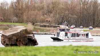 Die Personenfähre Keer Tröch II in Wesel fährt wieder - NRZ News
