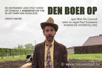 Gewezen doelman speelt gefrustreerde man in gemeentepark (Ruiselede) - Het Nieuwsblad