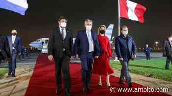 Alberto Fernández asiste en Perú a la asunción de Pedro Castillo - ámbito.com
