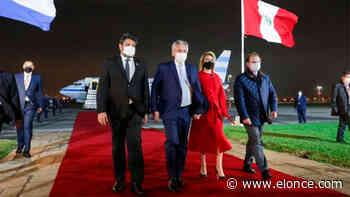 Alberto Fernández llegó a Perú para asistir a la asunción de Pedro Castillo - Elonce.com