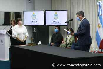 En la asunción de Centeno como ministra de Salud, Capitanich adelantó que harán anuncios vinculados a la carrera sanitaria   CHACO DÍA POR DÍA - Chaco Dia Por Dia