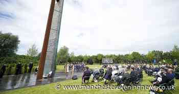Tributes to fallen GMP officers and staff at dedication of new national memorial