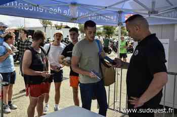 Anglet : le beach rugby est passé entre les gouttes - Sud Ouest