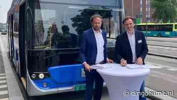 Deurnese Ebusco levert 39 lichtgewicht elektrische bussen voor Gooi en Vechtstreek - DMG Deurne