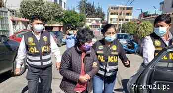 Arequipa: Detienen a mujer investigada por el delito de pornografía infantil y tocamientos indebidos a menor de edad - Diario Perú21