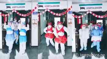 Arequipa: personal de salud baila al ritmo de danzas típicas por Fiestas Patrias - La República Perú