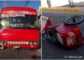Arequipa: deberán reconstruir parte del rostro de joven heladero atropellado - El Búho.pe