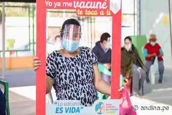 Arequipa supera meta de inmunización en primer Vacunatón contra el covid-19 - Agencia Andina