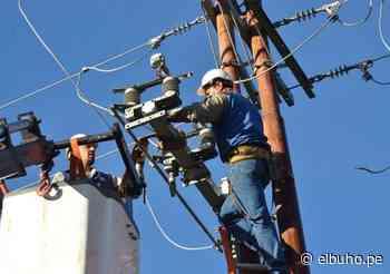Corte de servicio eléctrico en 23 distritos de Arequipa y Caylloma, este martes 27 - El Búho.pe