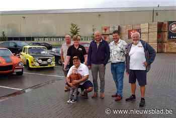 Vintage On Wheels weekje vroeger om rally van Staden niet voor de voeten te lopen