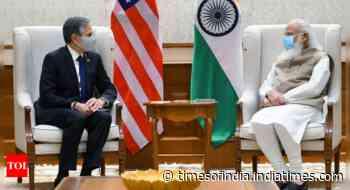 US secretary of state Antony Blinken calls on Prime Minister Narendra Modi