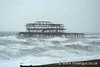 Bad news for Brighton's beachgoers - wet weather to stay for next week
