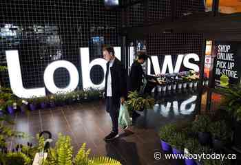 Loblaw profit soars even as grocery sales level off from pandemic highs