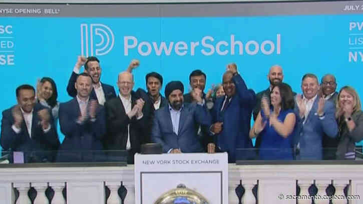 Folsom Education Technology Company Rings NYSE Bell To Celebrate IPO