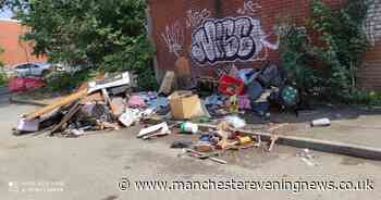 Two Manchester companies fined after rubbish dumped on the side of the road