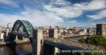Big changes to route of Great North Run 2021 - Gateshead Council