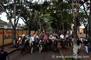 Cabalgata de Santaella y Luna recorre Maturín - El Universal (Venezuela)