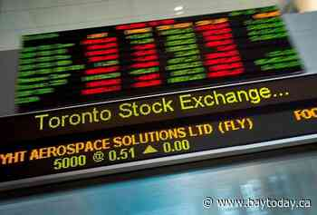 Tilray shares surge to help lift S&P/TSX composite in late-morning trading