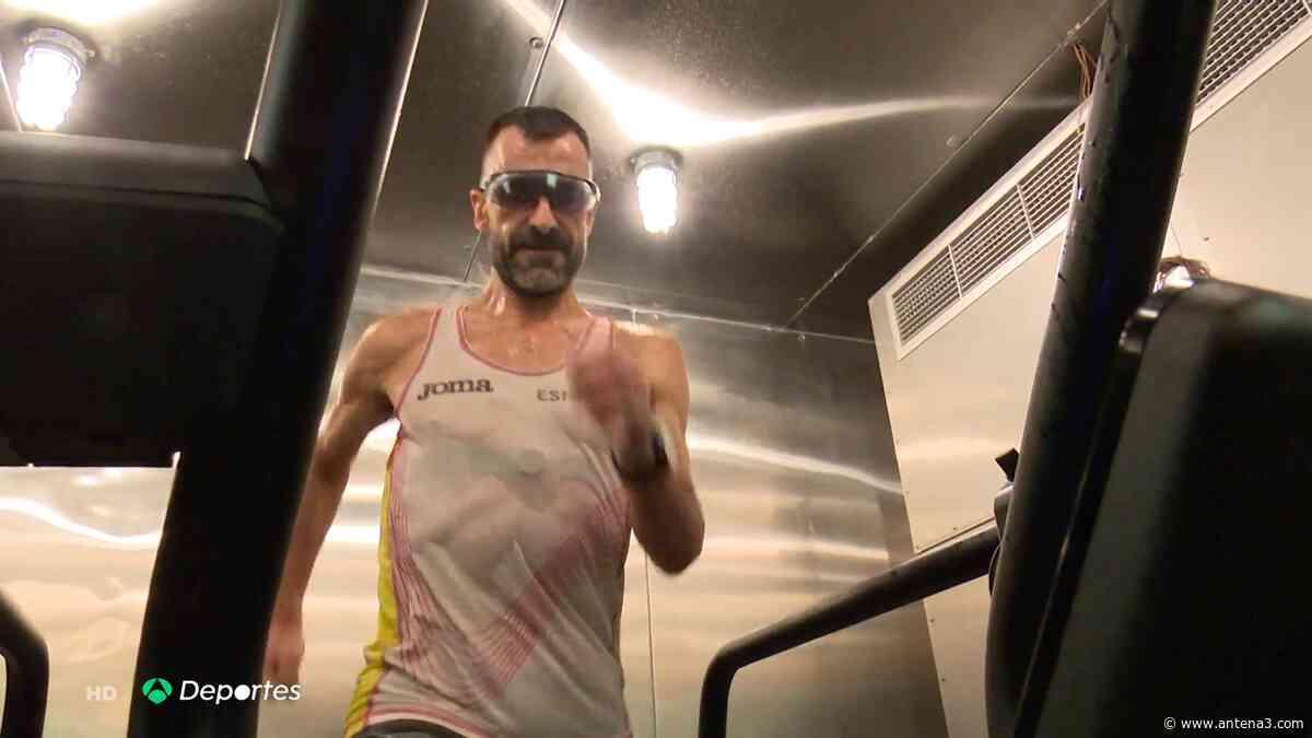 Así es la cámara del Ejército en la que entrena Jesús Ángel García Bragado para estar listo para los JJOO de T - Antena 3 Noticias