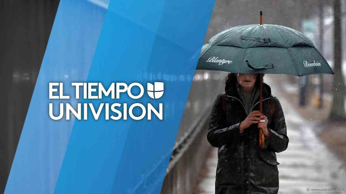 Probabilidad de lluvia para este miércoles por la tarde en Filadelfia - Univision 65 Philadelphia