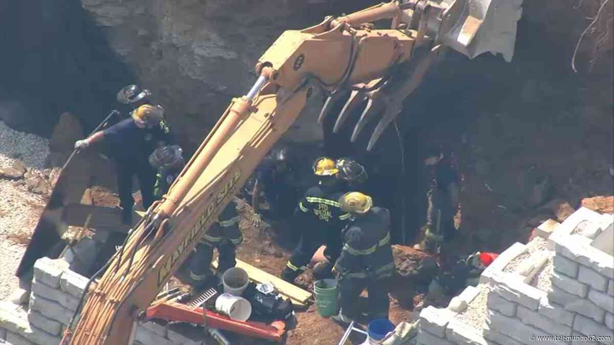 Brigadas de emergencia atienden colapso estructural - Telemundo 62