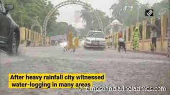 Patna receives heavy downpour