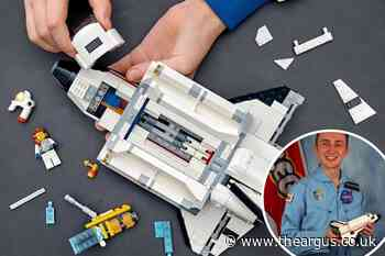 Graduate from Brighton University designs out-of-this-world Lego model