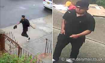 NYPD hunt man who dragged 11-year-old girl by throat before making 'sexually threatening statements'
